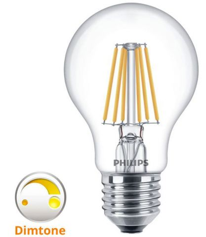 Philips LED Dim-To-Warm E27